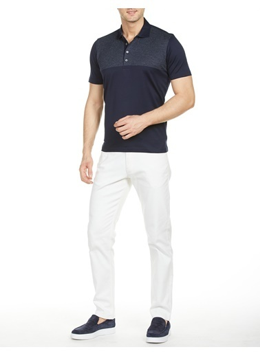 Bisse TS18Y18108 Regular Fit Polo Yaka T-Shirt Lacivert